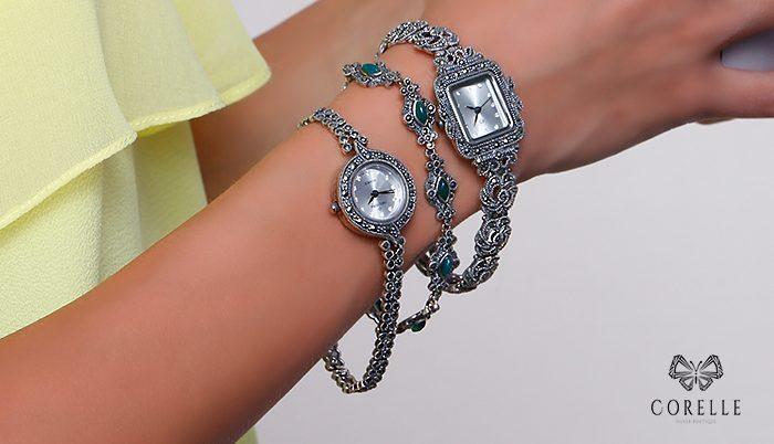 Ceasuri din argint, Corelle, Blog
