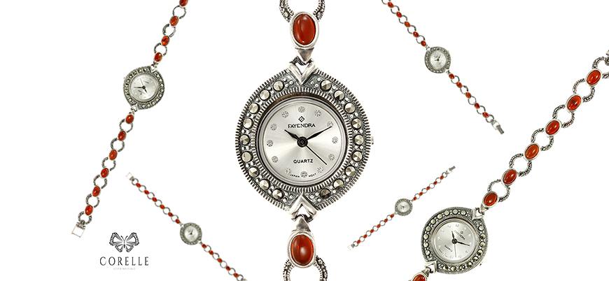 Ceas de mana din argint- Corelle- Blog