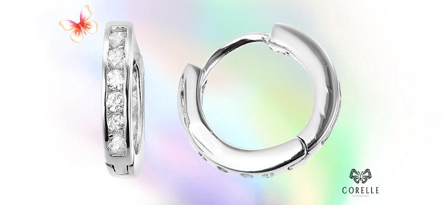 Cercei argint copii- Corelle- Blog