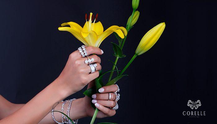 Inele argint cu zirconii- Corelle -Blog
