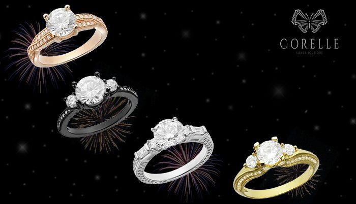 Inele de logodna din argint - un An Nou, o noua viata