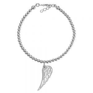 Bratara argint 925 aripa, wing - Corelle - bfa005