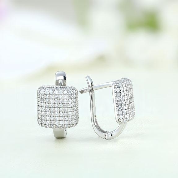 Cercei argint cu pietre - ICE0022