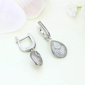 Cercei argint cu pietre - ICE0023
