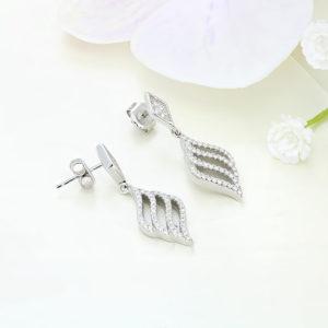 Cercei argint cu pietre - ICE0034