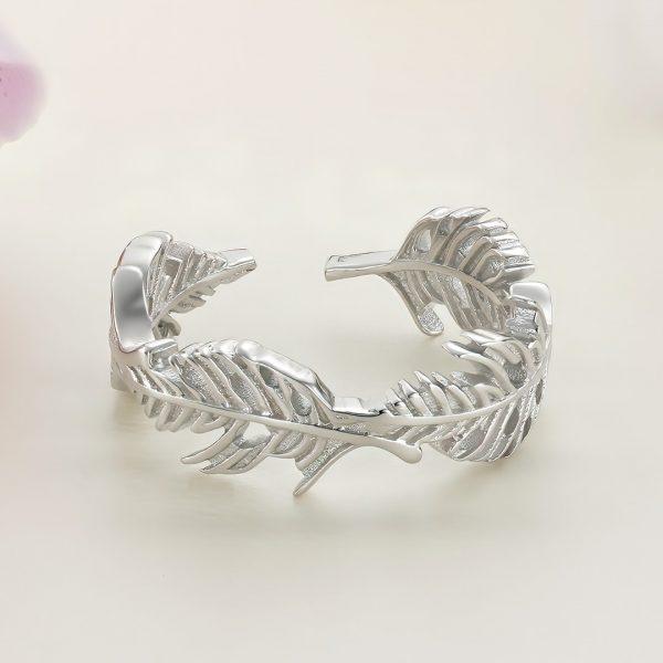 Inel argint Reglabil fara pietre - Pana - ICR0069