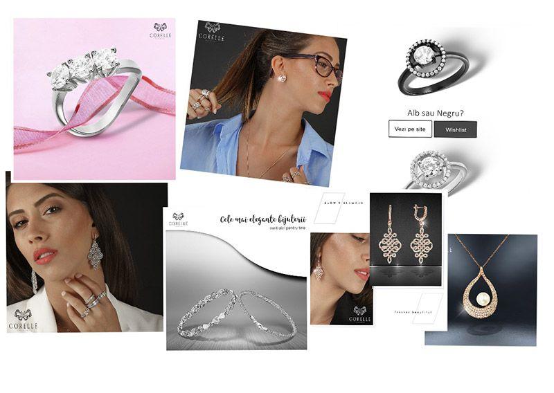bijuterii argint 925 instagram Corelle