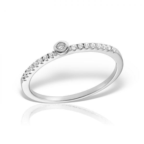 Inel de logodna cu pietre