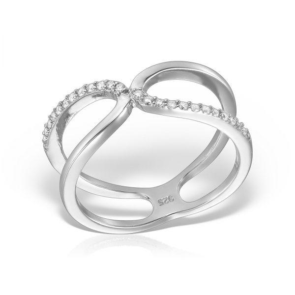 Inel argint cu pietre - MCR0025
