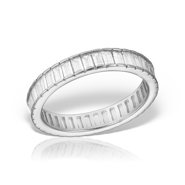 Inel argint cu pietre Eternity - MCR0028