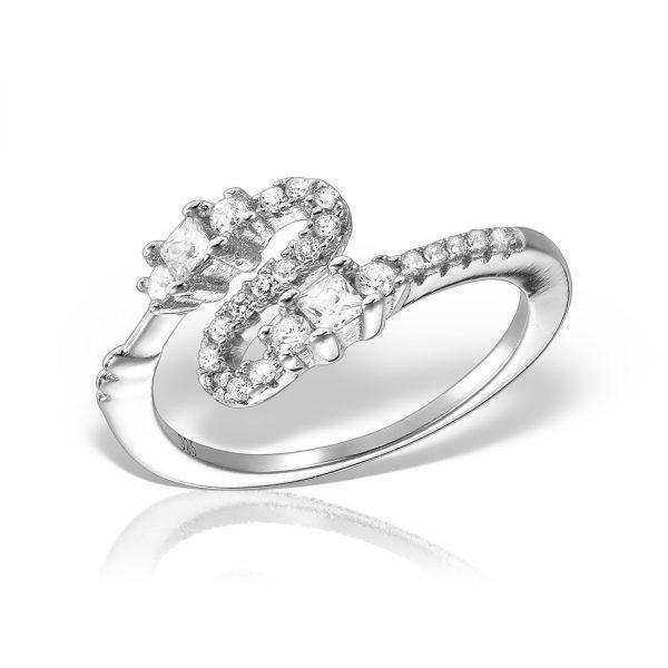 Inel argint cu pietre - MCR0033