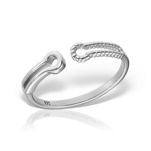 Inel argint reglabil - MCR0056