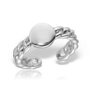Inel argint reglabil Banut - MCR0089