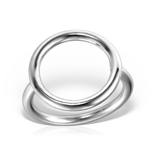 Inel argint subtire Cerc - MCR0093