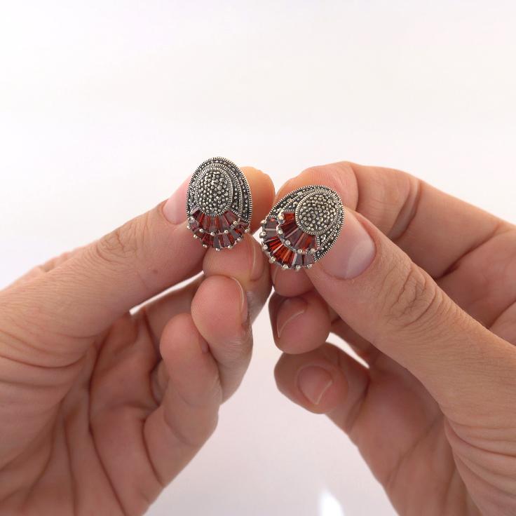 Cercei argint, Corelle, cod trse042