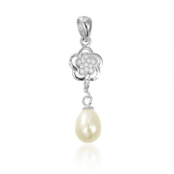 Pandantiv cu perla din argint