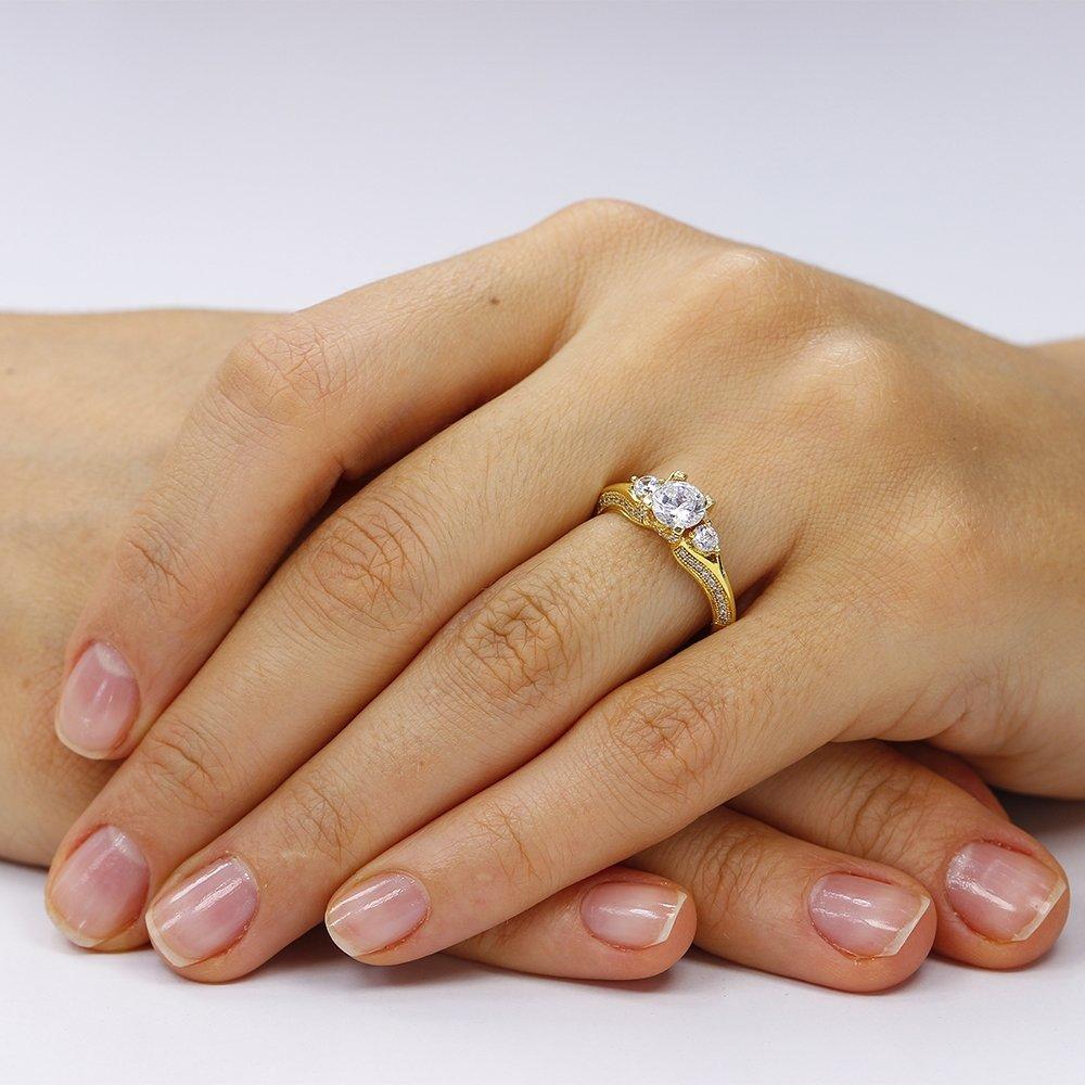 Inel argint cu cristale albe TRSR060, Corelle